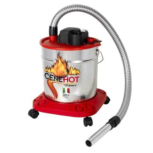 Aspirateur cendres cenehot elect 18l 950w roues - Aspirateur a cendre ...