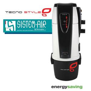 Centrale TECNO STYLE 250 - Sistem Air + Flexible on/off et 6 acc + Kit de base + Vacpan