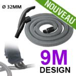 Flexible simple de 9m pour aspirateur central - Ergonomique