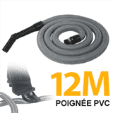 Flexible simple de 12m pour aspirateur central
