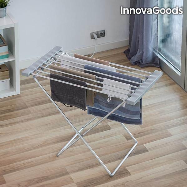 Tendoir linge lectrique pliable accesoire maison for Etendoir a linge pratique