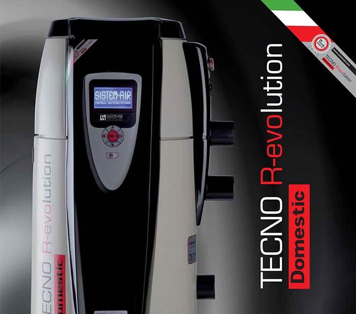 Aspiration centralisée Gamme Tecno Evolution de sistem air
