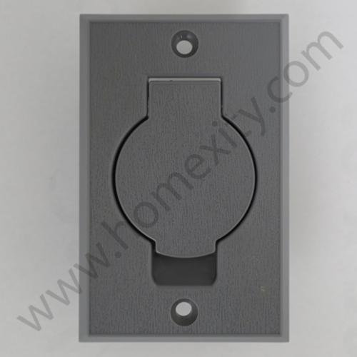prise aspiration centralis e grise porte ronde rectangulaire aspiration centralis e. Black Bedroom Furniture Sets. Home Design Ideas