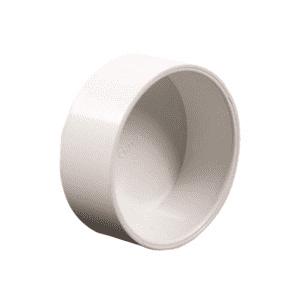 capuchon ou bouchon blanc pour tuyau pvc d 51mn aspiration centralis e. Black Bedroom Furniture Sets. Home Design Ideas