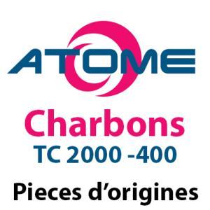 Charbon pour centrale Atome TC2000 - 400