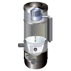Centrale d'aspiration Electrolux ZCV860 SEULE Aspiration